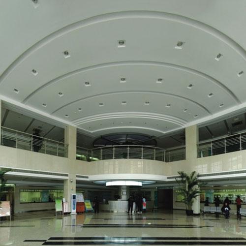 上海市精神卫生中心总部改扩建工程(内厅一角)