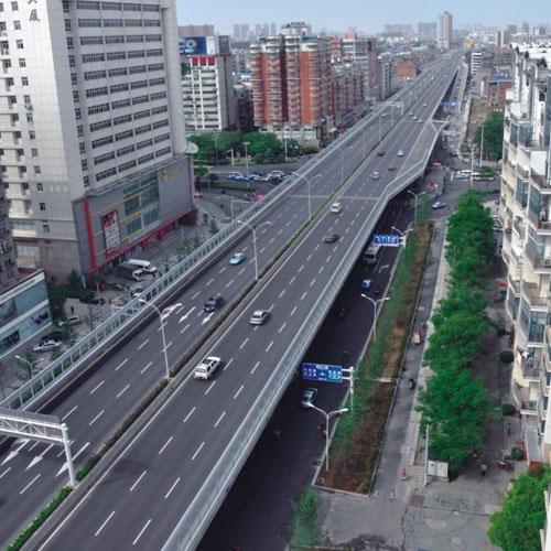 武汉姑嫂树路(三环线~发展大道)改造工程  