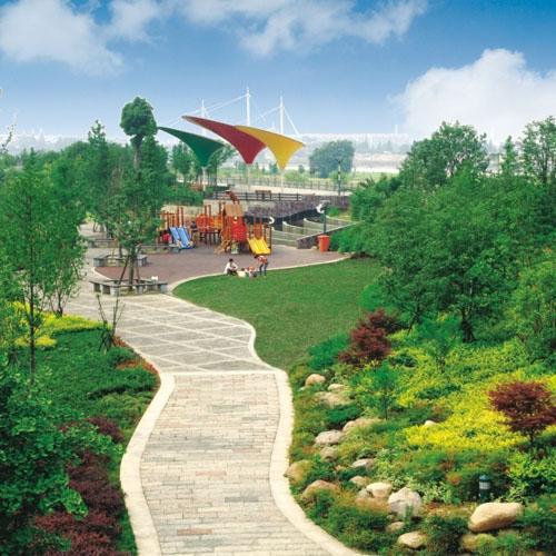 上虞市城防一期绿化工程